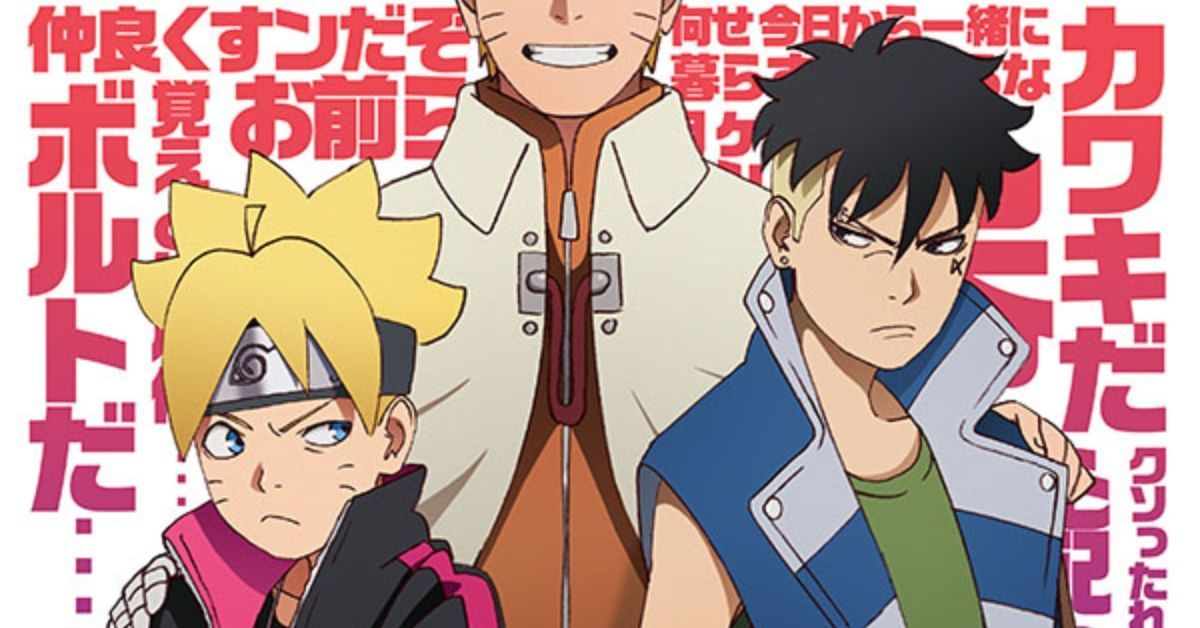 Naruto Boruto Kawaki Arc Clash with Kara Poster