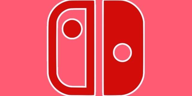 nintendo switch logo red