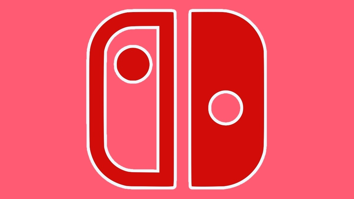 nintendo switch logo red