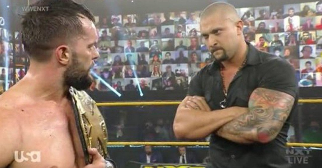 NXT's Finn Balor Retains NXT Championship and Teases Karrion Kross TakeOver  Showdown
