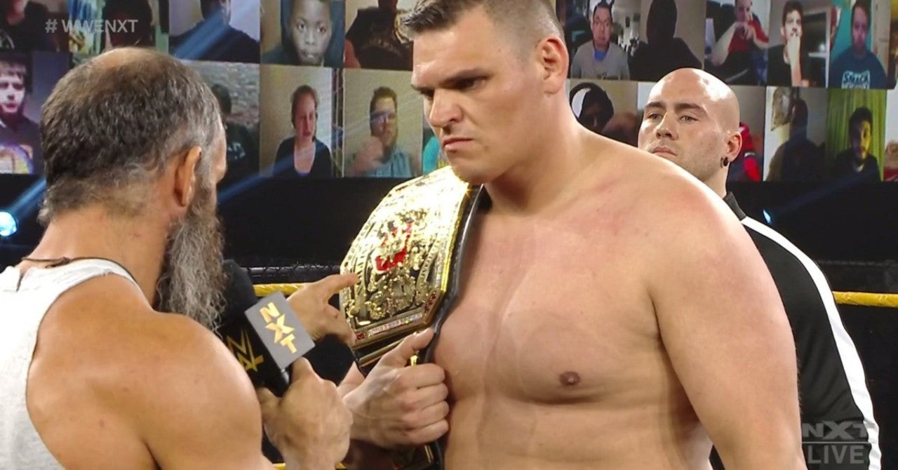 NXT Reveals Walter vs Tommaso Ciampa Match for TakeOver: Stand & Deliver