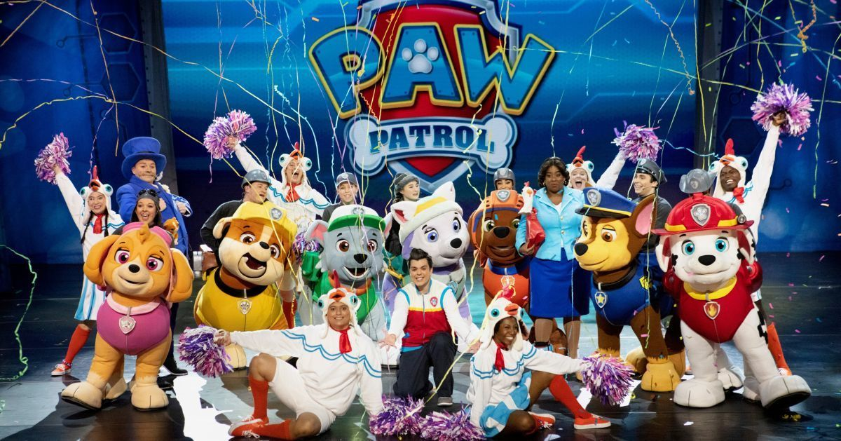 paw patrol live and on tv