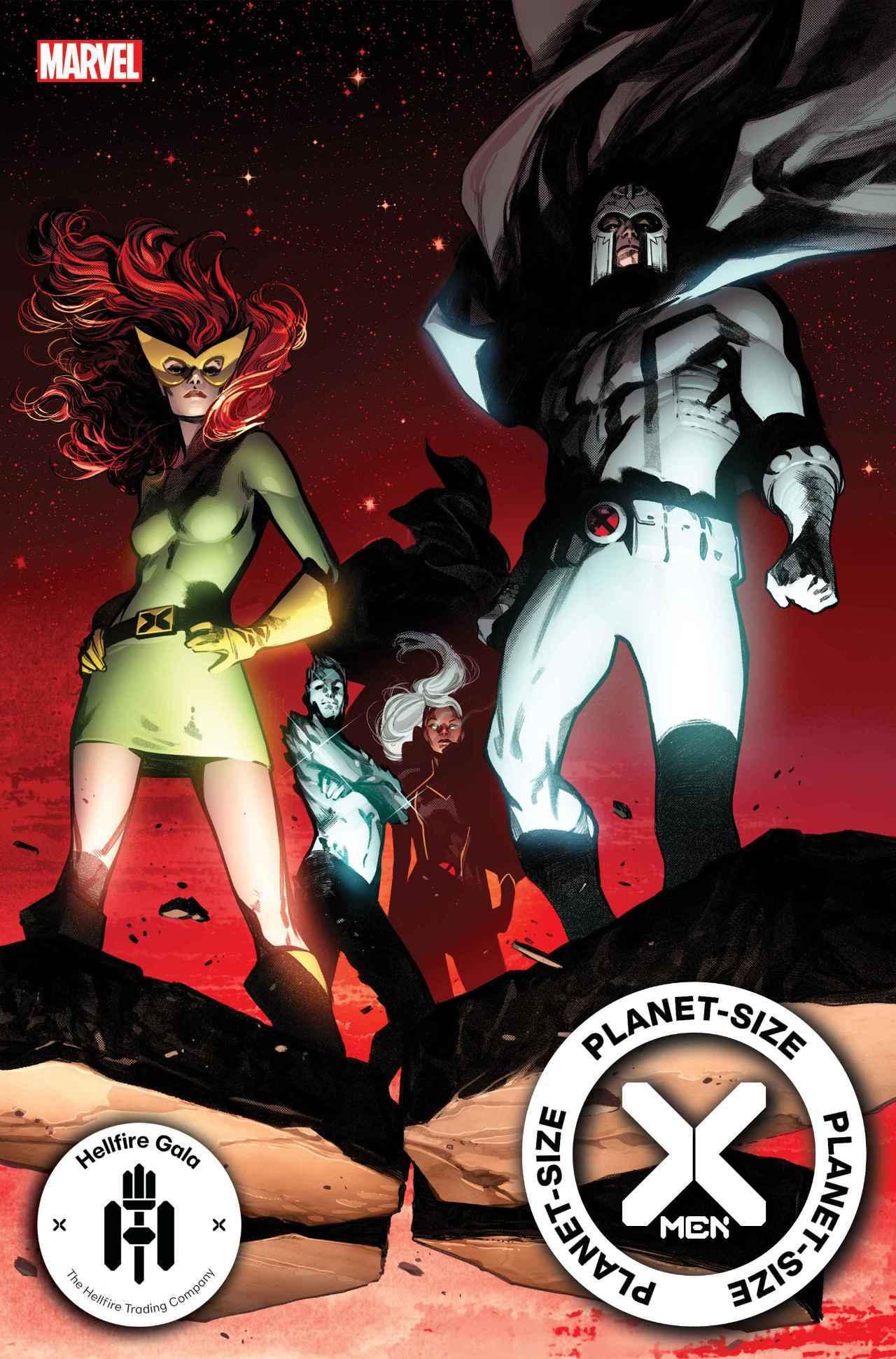 Planet Size X-Men 1 Cover