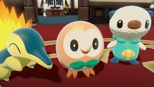pokemon legneds starters