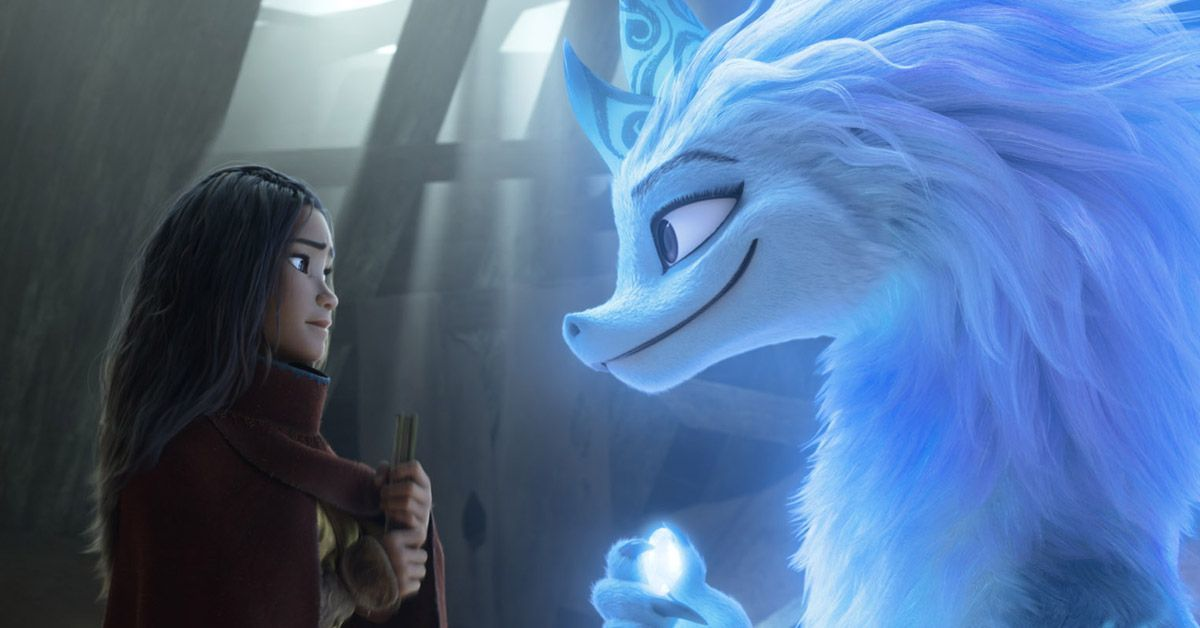 raya and the last dragon behind the scenes