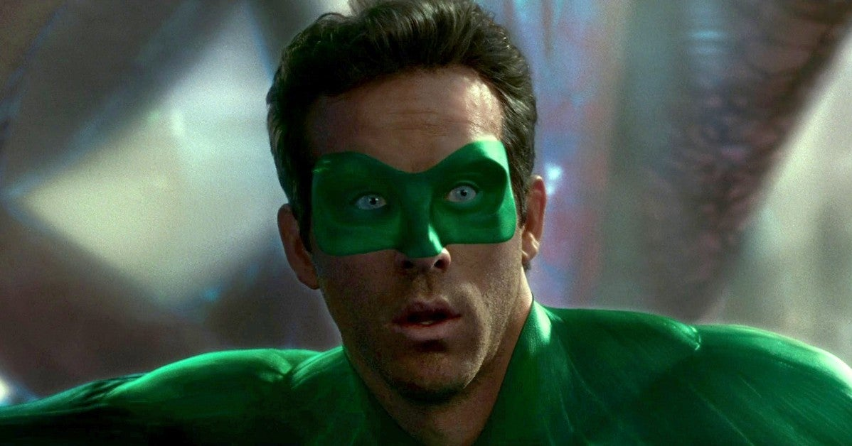 Ryan Reynolds Watching Green Lantern Movie St Patricks Day 2021