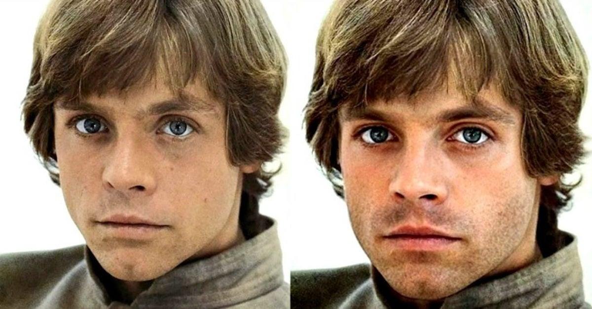 Sebastian Stan on Star Wars Young Luke Skywalker Casting Rumors