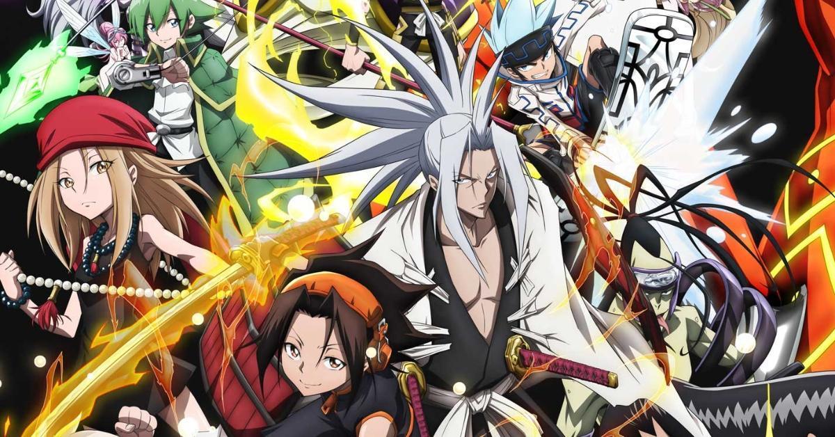 Shaman King 2021 Anime Netflix Poster