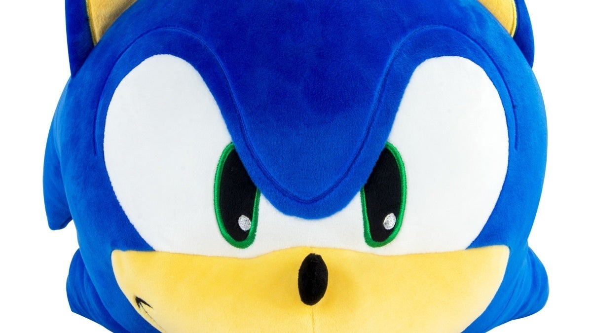 sonic the hedgehog tomy plush new cropped hed