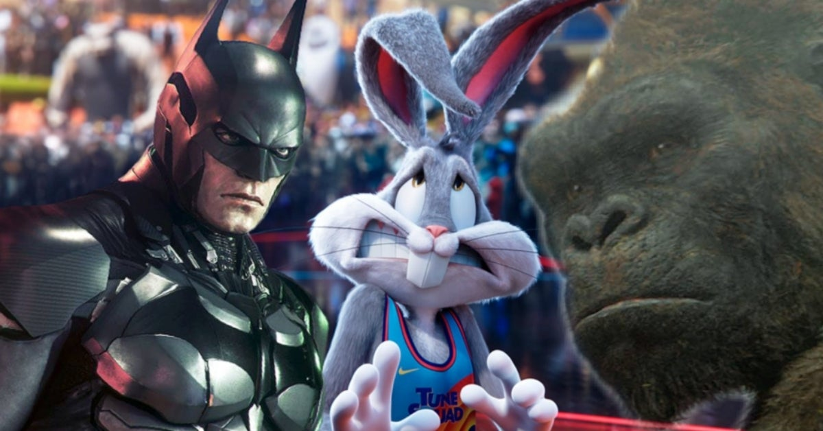 Space Jam A New Legacy Bugs Bunny Batman King Kong