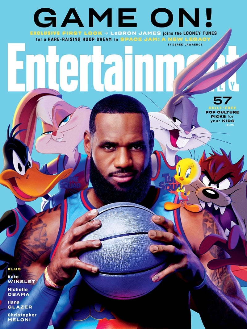 space jam new legacy cover
