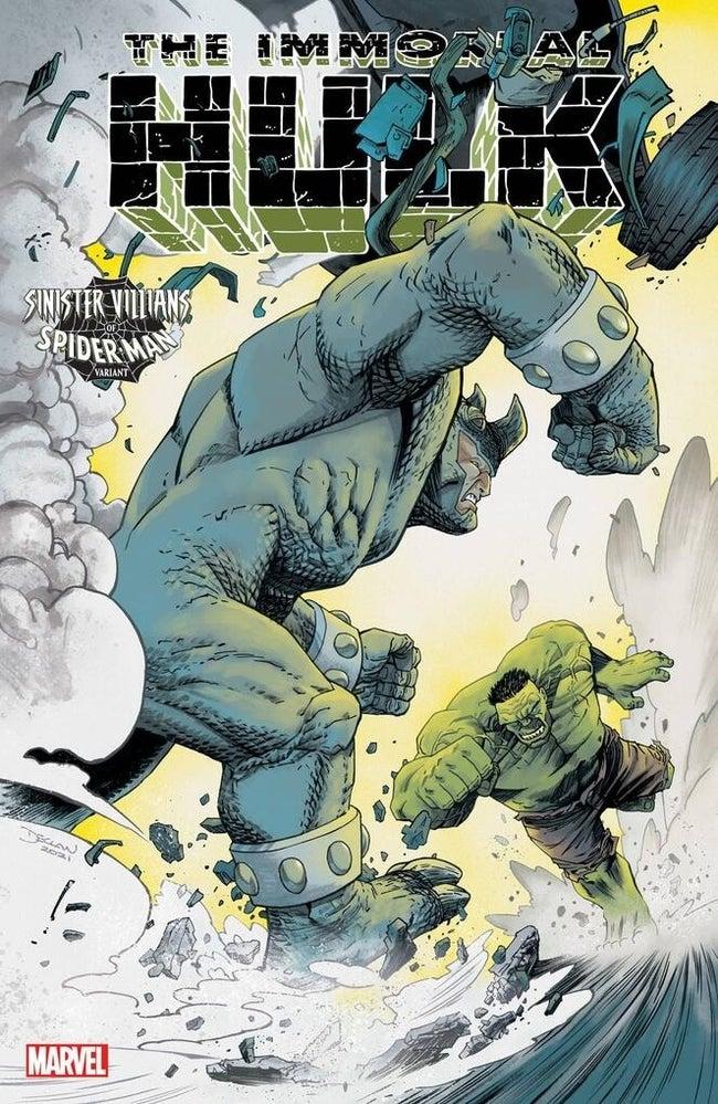 spider man villains variant hulk 47