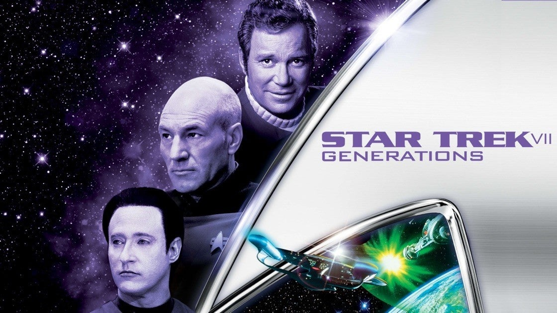 Star Trek Generations On Paramount Plus