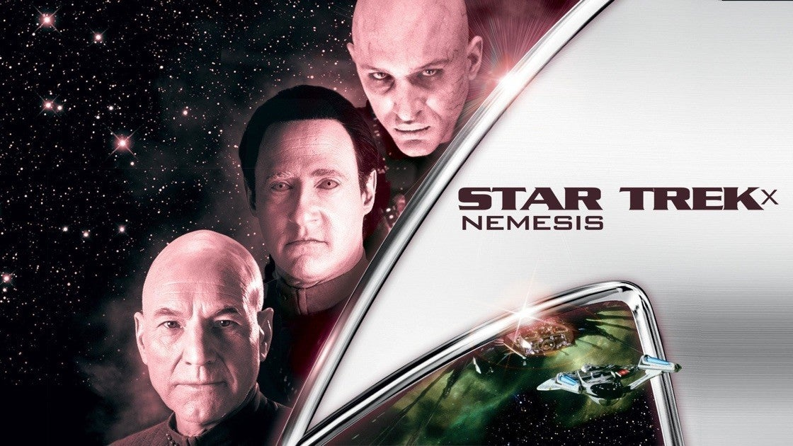 Star Trek Nemesis On Paramount Plus