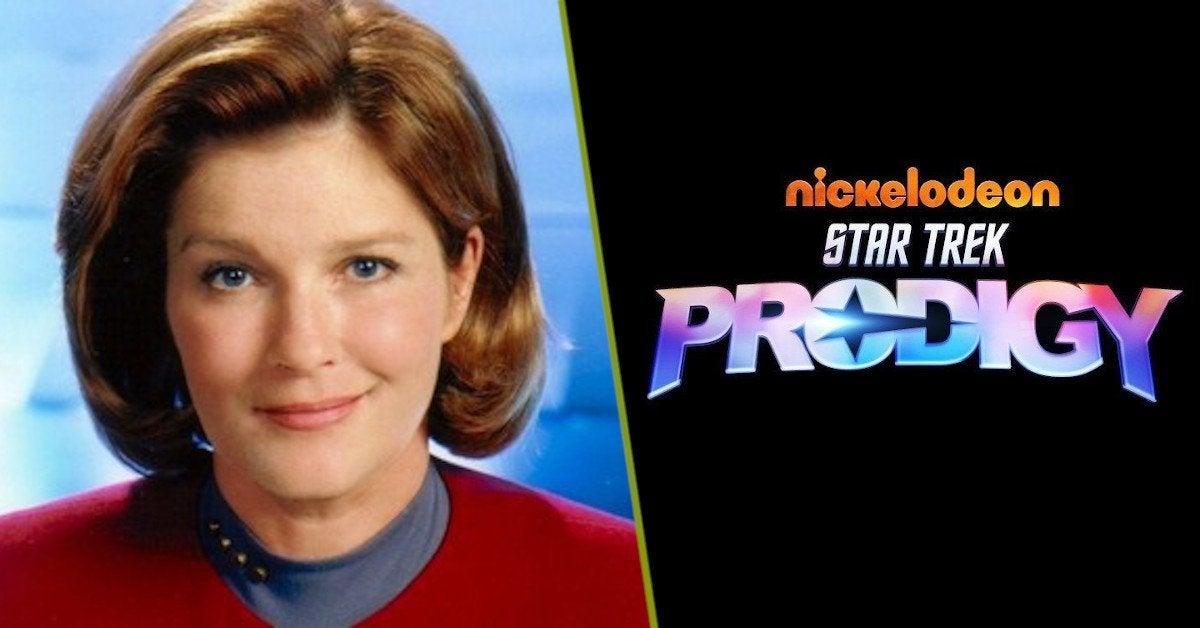 Star Trek Prodigy Janeway Kate Mulgrew