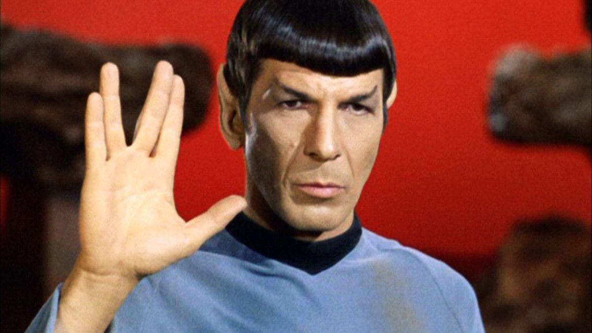 Star Trek Spock Vulcan Salute