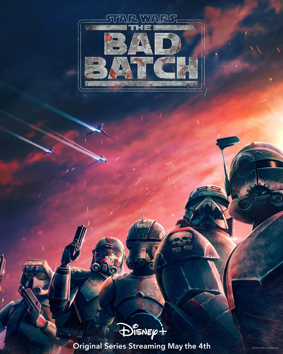 Star Wars: The Bad Batch Gets All-New Poster