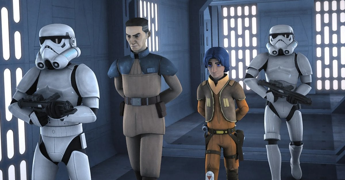 star wars rebels ezra bridger stealth strike