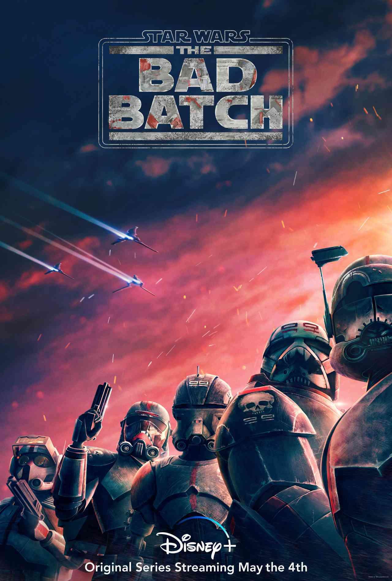 Star Wars The Bad Batch Key Art