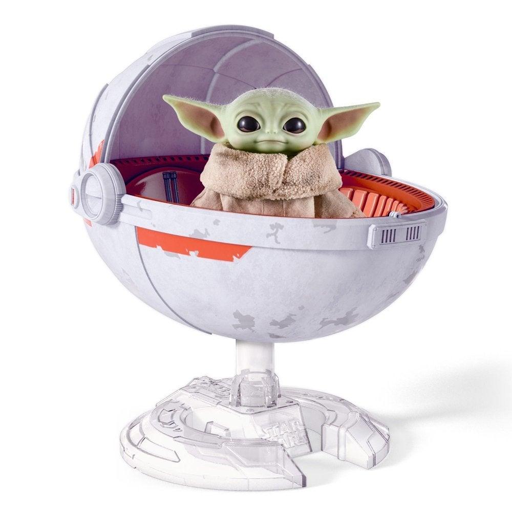 star wars the mandalorian baby yoda toy