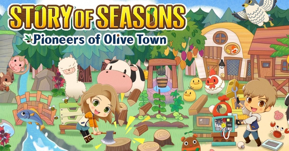 story of seasons olive town