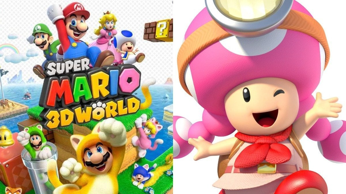 Super Mario 3D World Toadette
