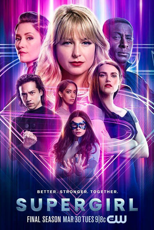 supergirl final season poster