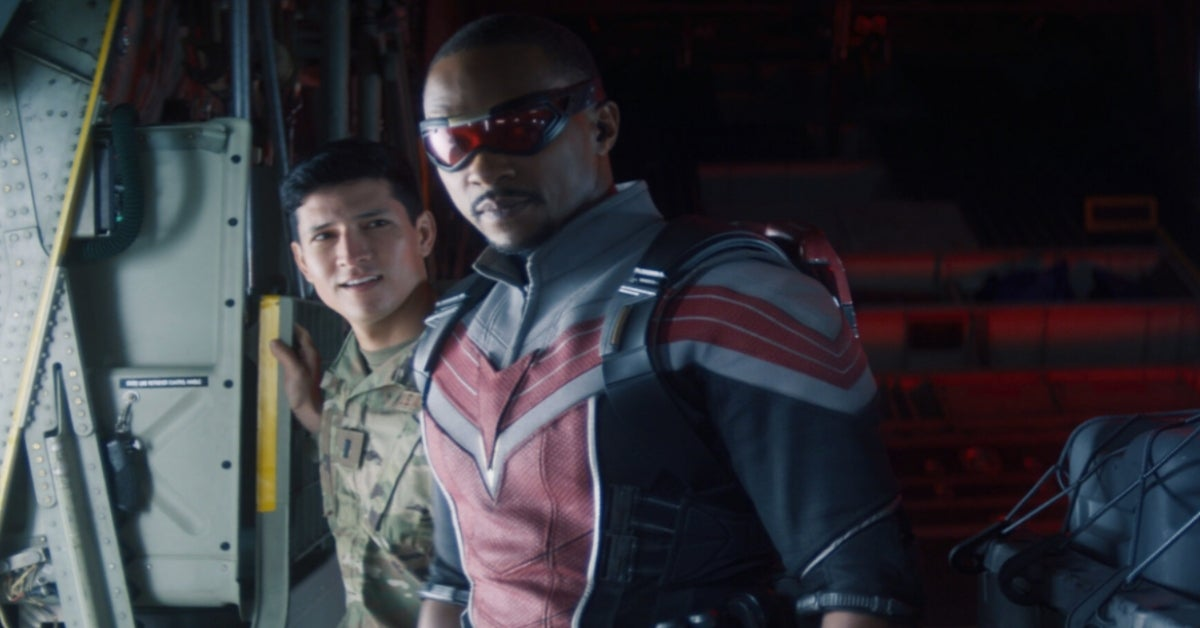 The Falcon and the Winter Soldier Anthony Mackie Danny Ramirez