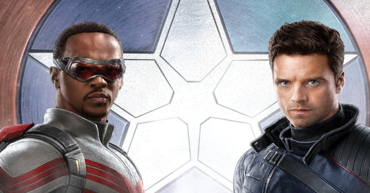 The Falcon and the Winter Soldier Captain America shield