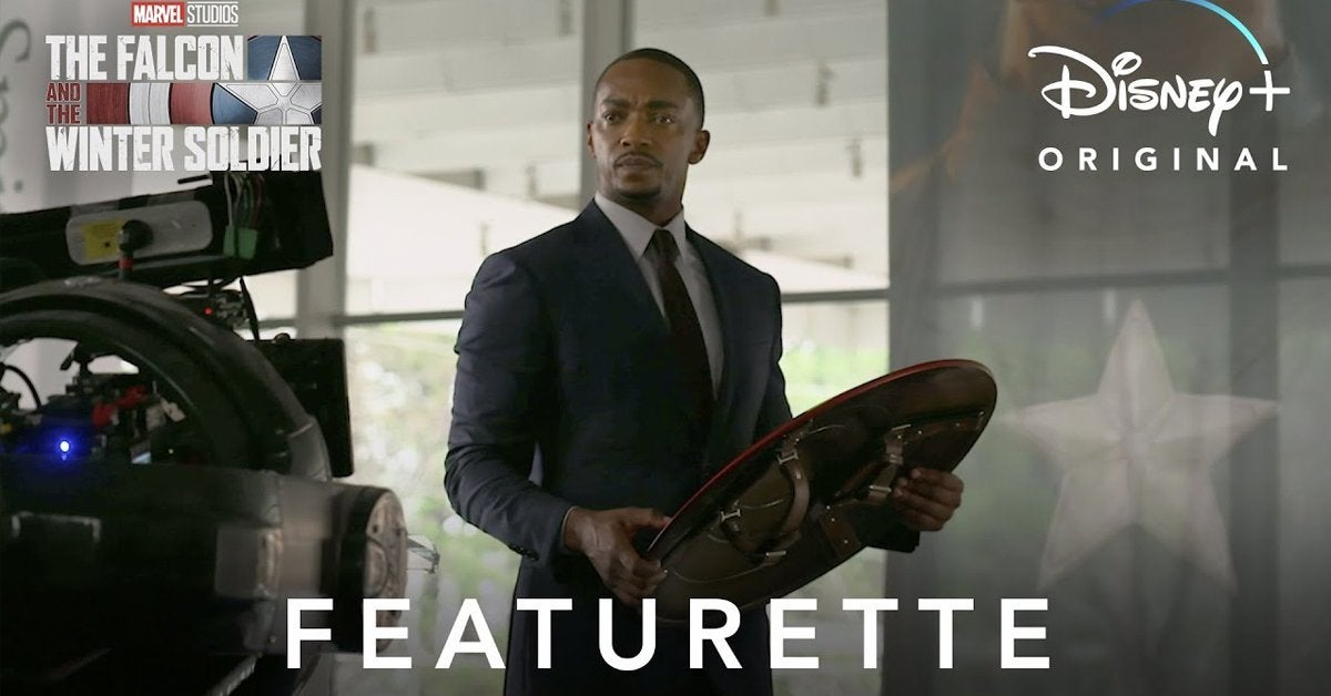 the falcon and the winter soldier featurette anthony mackie
