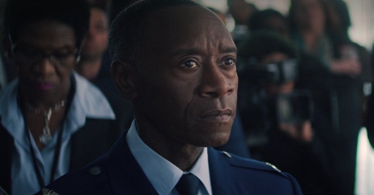 The Falcon and the Winter Soldier Rhodey War Machine Don Cheadle
