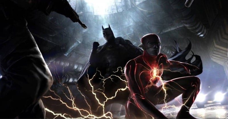 The Flash Movie Michael Keaton Batman
