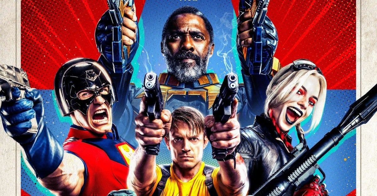 The Suicide Squad Trailer  Character Posters