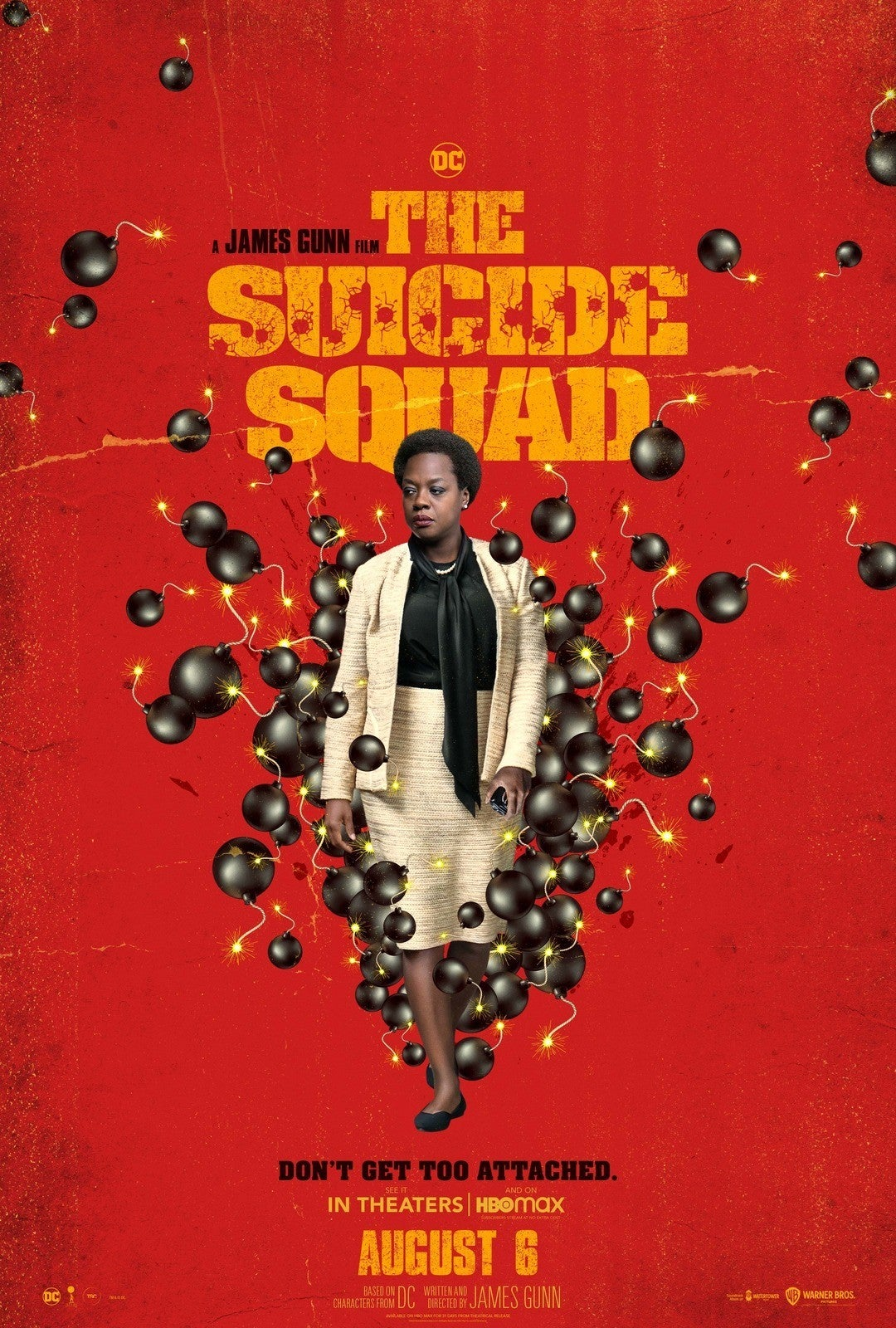The Suicide Squad Trailer Posters Amanda Waller