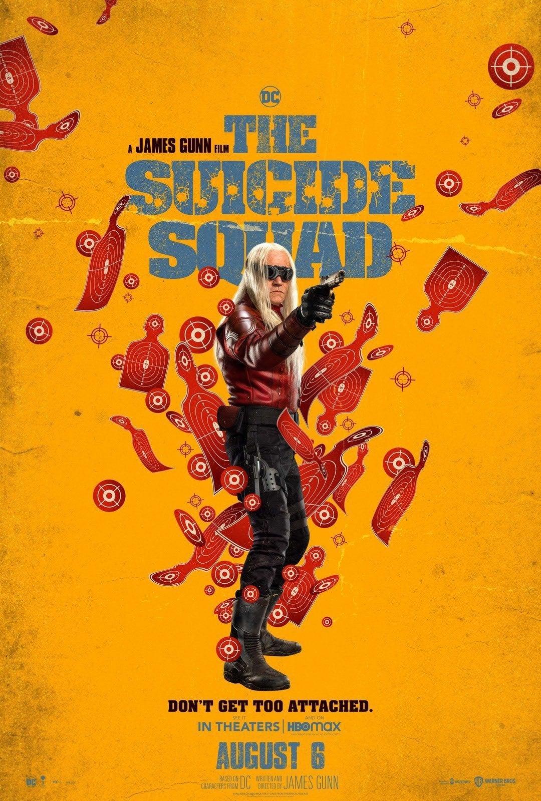 The Suicide Squad Trailer Posters Savant