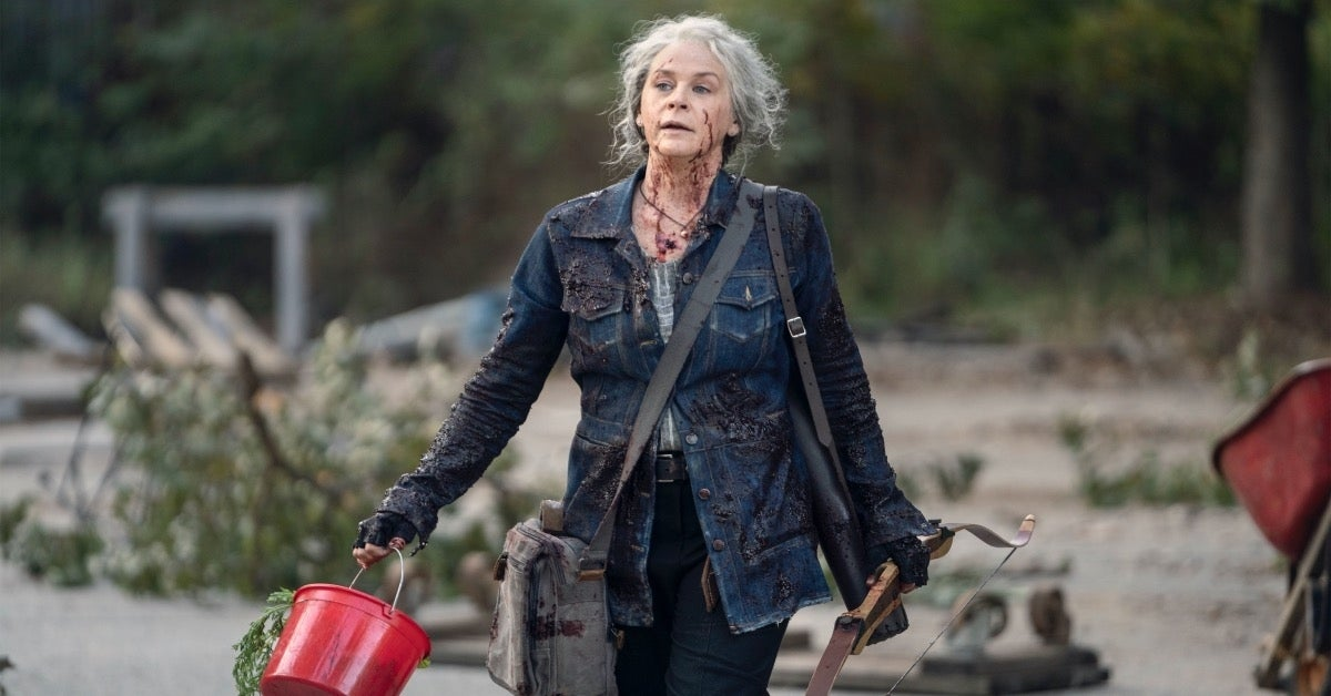 The Walking Dead Carol Melissa McBride Diverged