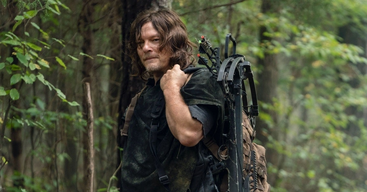The Walking Dead Daryl Norman Reedus Diverged