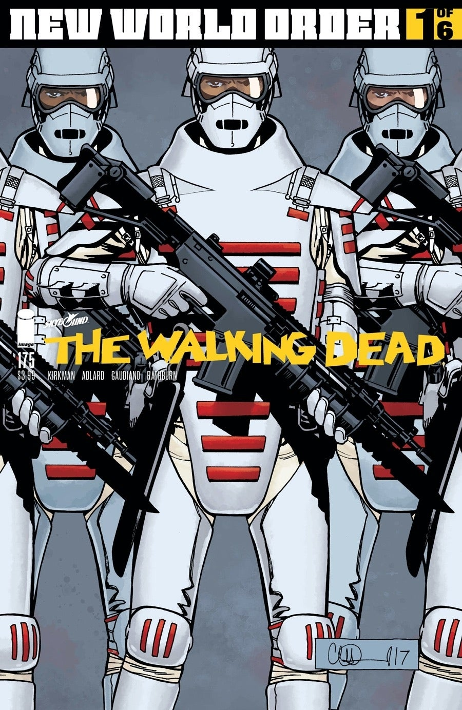 The Walking Dead issue 175 Commonwealth Army
