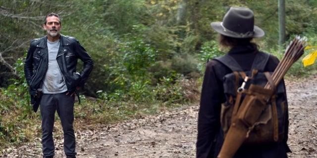 The Walking Dead Maggie Negan Lauren Cohan Jeffrey Dean Morgan