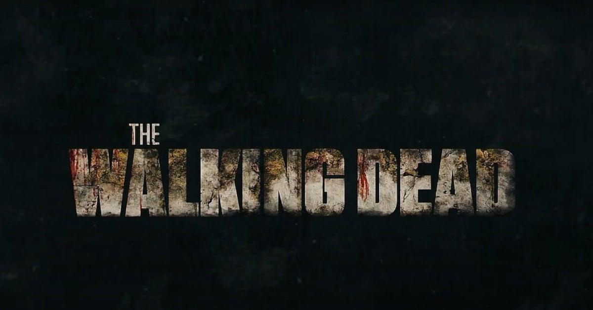The Walking Dead New Logo Extended Season 10