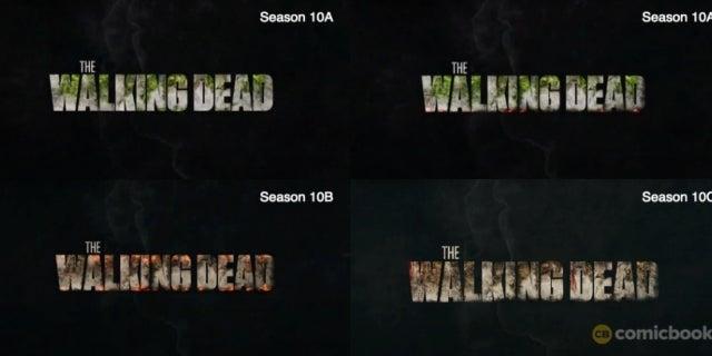 The Walking Dead new logo Season 10
