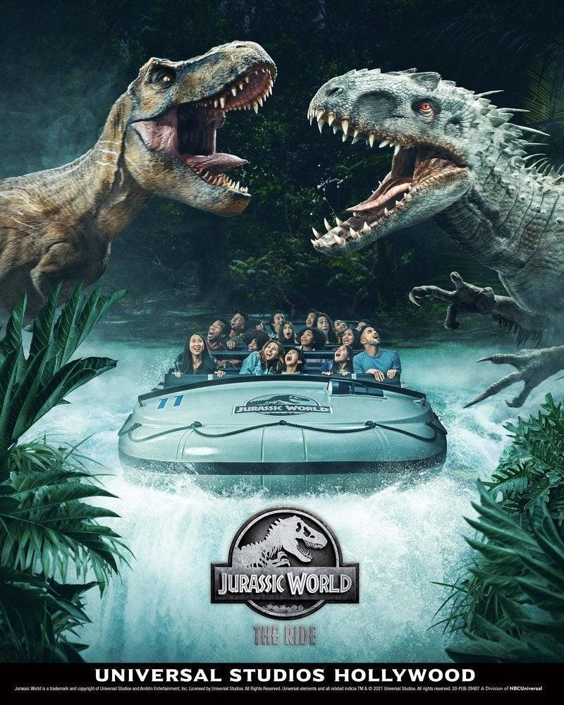 universal studios jurassic world the ride imdominus rex