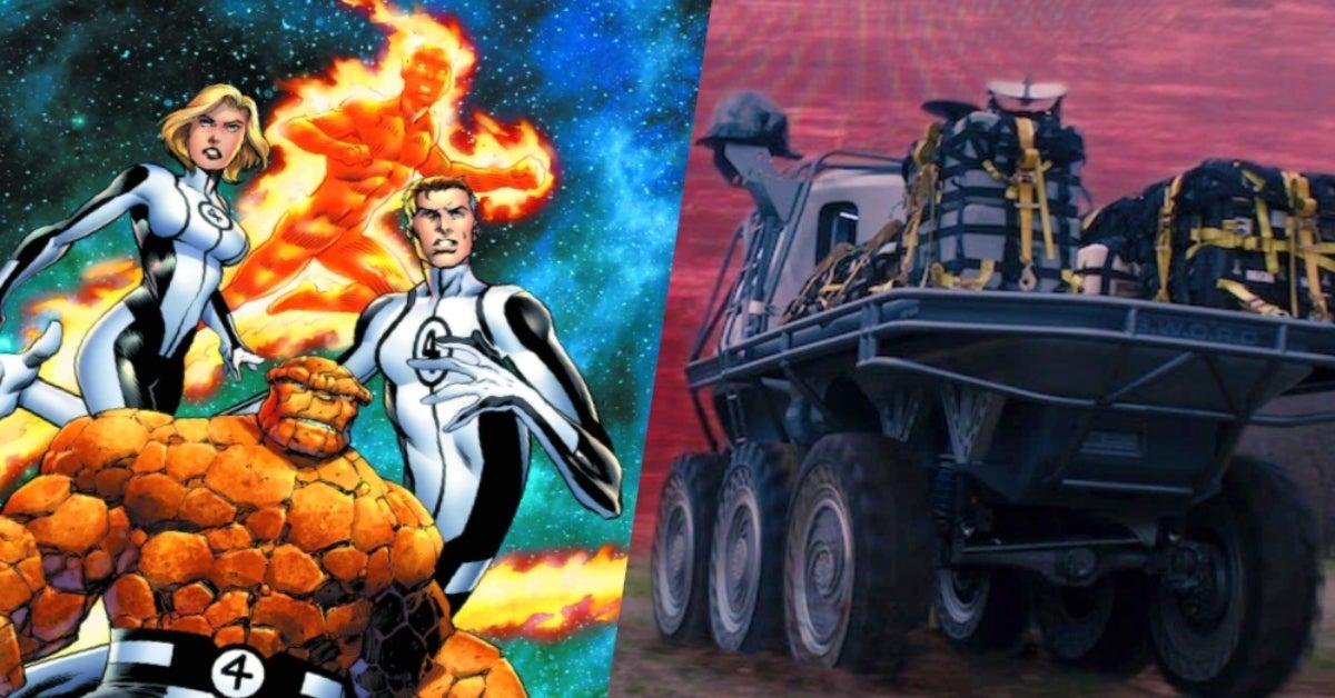 WandaVision aerospace engineer Reed Richards Fantastic Four