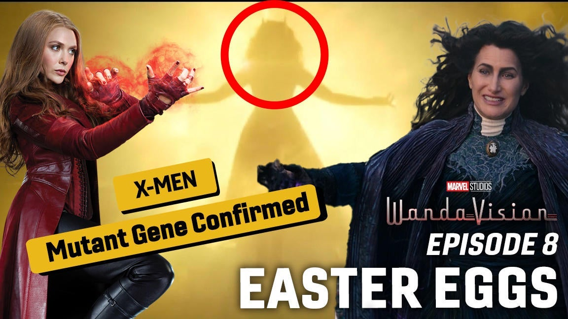 WandaVision Episode 8: Scarlet Witch Mutant Gene, X-Men Multiverse Explained