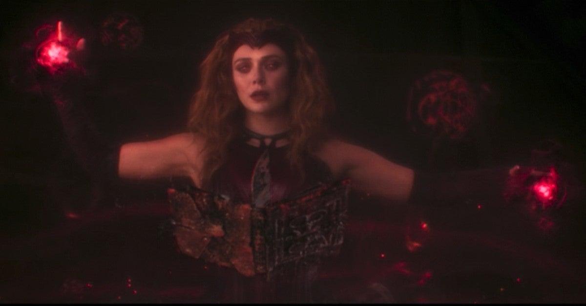 WandaVision Post Credits Scene Wanda Darkhold Doctor Strange 2 Lead In Mephisto