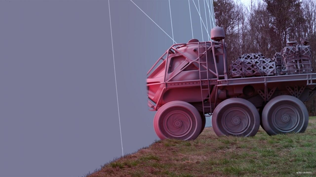 wandavision rover vfx before