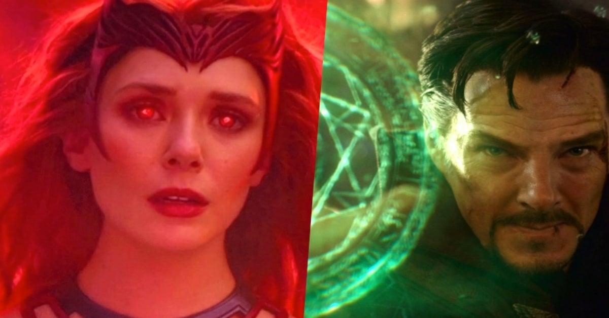 WandaVision Scarlet Witch Doctor Strange Multiverse of Madness