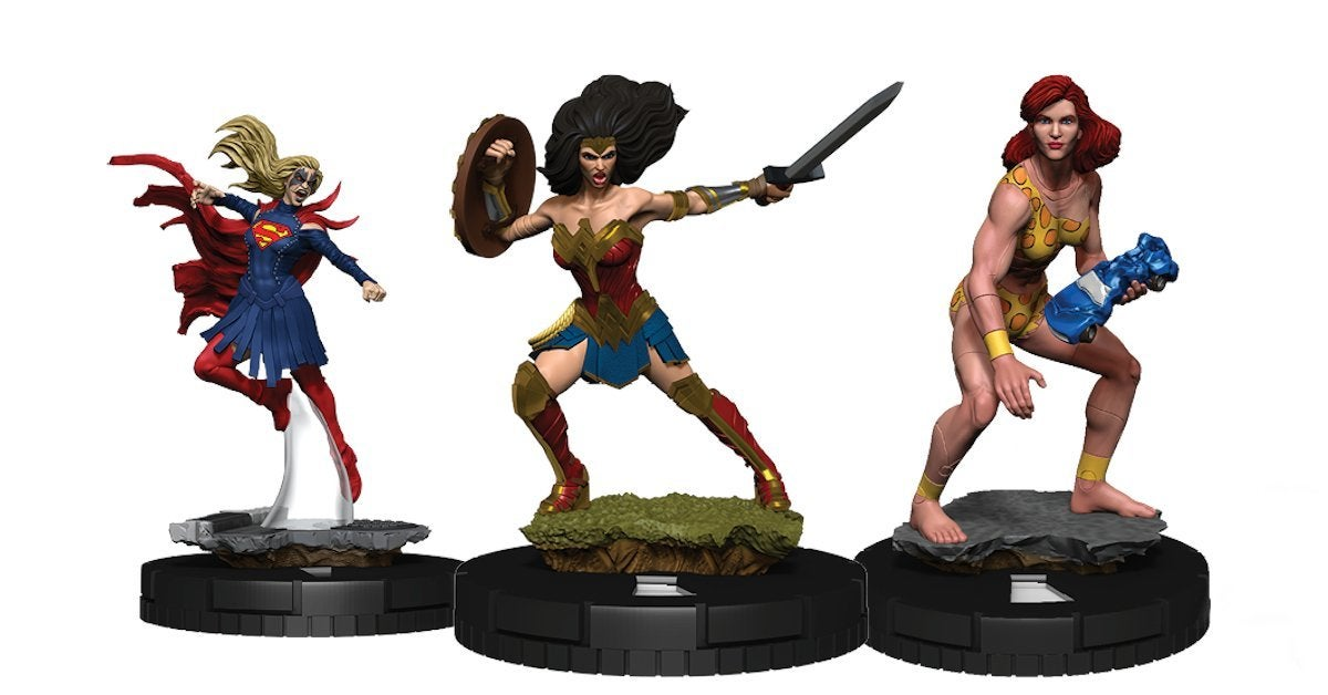 Wonder Woman 80th Anniversary DC HeroClix