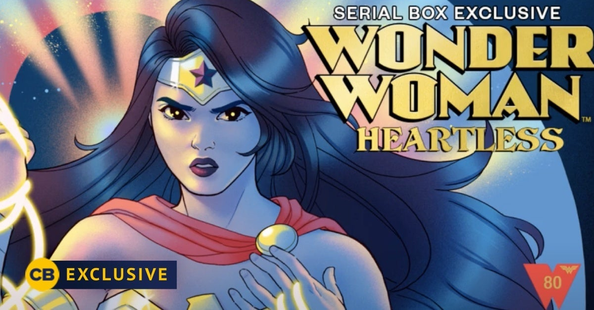 wonder woman heartless serial box exclusive