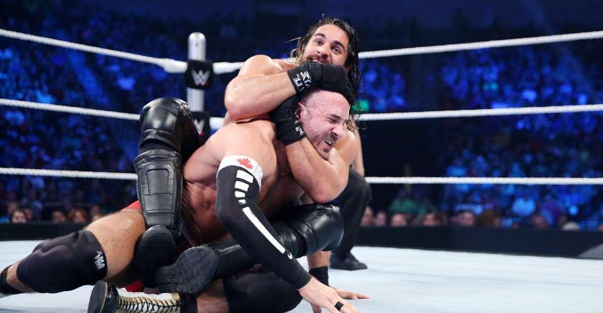 WWE Caesaro Seth Rollins